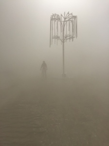 art through a dust storm