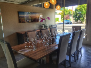 one of the private tasting rooms at The Wine Thief