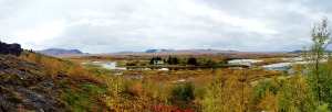 a view from Þingvellir