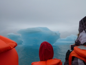 Jökulsárlón-- glacial lagoon