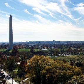 The Washington Monument view